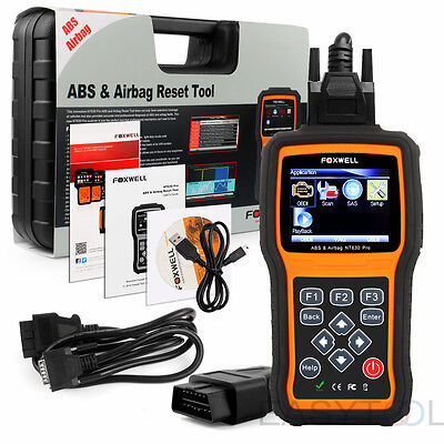 ABS Airbag SRS Reset OBD2 Code Reader Diagnostic Scanner Foxwell NT630 Pro