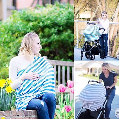 Baby Breastfeeding Covers Sunshade Nursing Clothes Wrap Maternity Elastic Simple