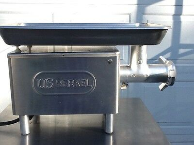 Berkel Meat Grinder E-222 Very Nice Clean And Strong ,dependable ,and 1 Hp Motor