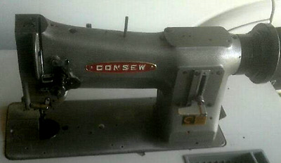 Consew 206RB-1 Walking Foot Industrial Sewing Machine Heavy Leather & Upholstery