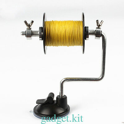 Portable Line Winding System Fishing Reel Line Winder Spooler Easy Line Spooling