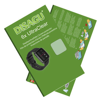 6x UltraClear Screen Protector for Pebble Time 2