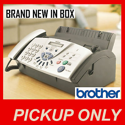 Brother Plain Paper Fax machine FAX 837MCS {BRAND NEW}  [PICKUP ONLY vic]