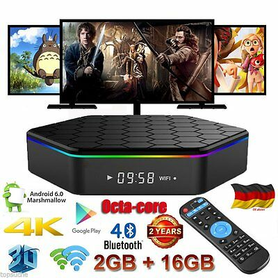 4K*2K 16GB T95Z Plus Smart TV Box Android 6.0 OctaCore S912 3D Media Player WIFI
