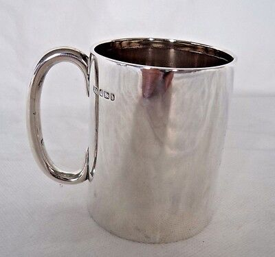 Victorian 1900 Sterling / Solid Silver Cup / Mug