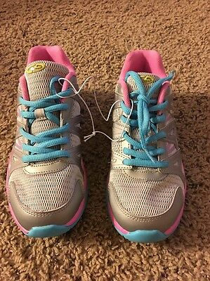 Girls C9 Champion Legend Pink/Blue/Gray Performance Athletic Shoes-Size 3 New