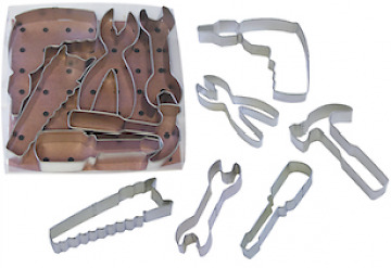 Tools Themed Cookie Cutter Set - 6 Piece Set