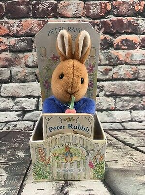 Beatrix Eden Potter Peter Rabbit Plush Story Book Gift Set 2000