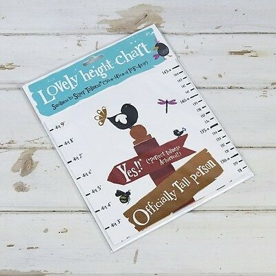 Bright Side Height Chart - Boys / Girls Height Chart - Height Chart for Toyroom