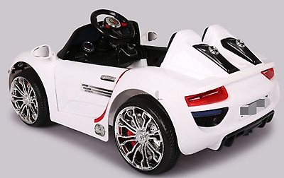 Porsche 918 Spyder style electric ride on car battery powered ride on kids car