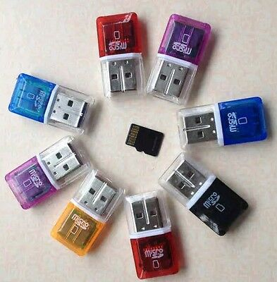 3 X NEW Micro SD to USB Memory Card TF T-Flash Reader Adapter for Sd Micro Card