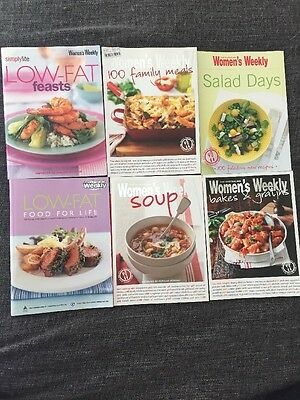6 X Womens Weekly Cookbooks