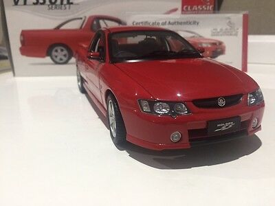 Classic Carlectables 2005 HOLDEN RED HOT VY SS Ute 1:18 Model #18140 - 032/1000