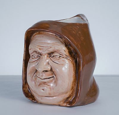 Antique Friar Tuck Monk Shaped Toby Mug The Merchant of Venice Gratiano?