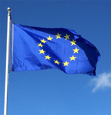 NEW LARGE FLAG EUROPEAN UNION 5ftx3ft (150cmx90cm) EUROPE EU 12 GOLD STAR BANNER