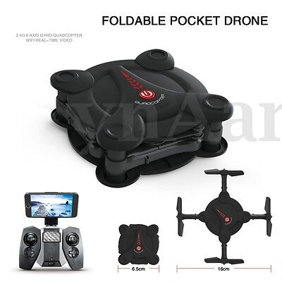 Eachine E55 Mini WiFi Foldable Pocket Drone High Hold Mode RC Quadcopter BNF/RTF