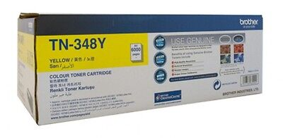Brand NEW Brother TN-348Y Toner 6000pages Yellow laser toner & cartridge