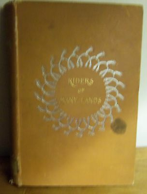 Rare 1901 RIDERS OF MANY LANDS, by Dodge; Illus. By Frederic Remington HORSES