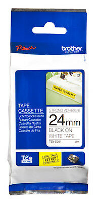 Brand NEW Brother TZe-S251 TZ label-making tape