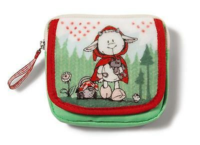 Nici 36195 - Wallet Zicklein Melly Plush small 11x10cm Wallet Purse