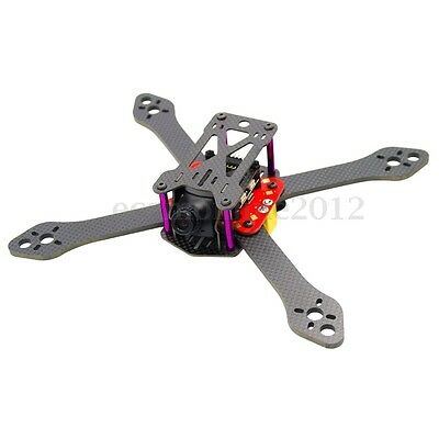 Realacc Martian III X Structure 4mm Arm 190mm 220mm 250mm Carbon Fiber Frame Kit