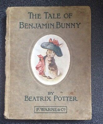 The Tale of Benjamin Bunny. Beatrix Potter First Edition. 1904.