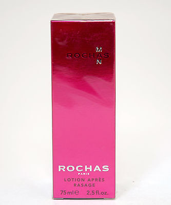 Rochas Man After Shave Lotion 75 Ml Old Formula