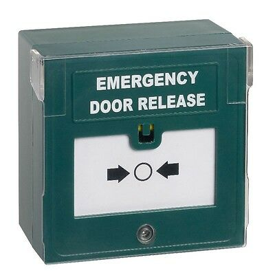 Break Glass Emergency Door Release / Green Call Point cover sounder & LED
