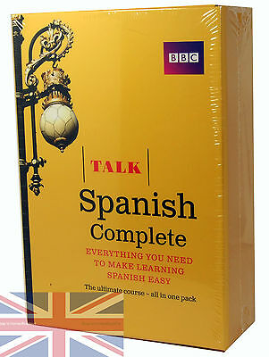 BBC Learn Talk Spanish Complete - 4 CD-Audio, 2 Course Books Plus Grammar Guide
