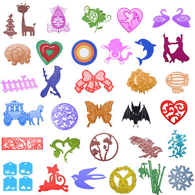 Embossing Cutting Dies Stencil DIY Scrapbooking Album Paper Card Fancy Crafts