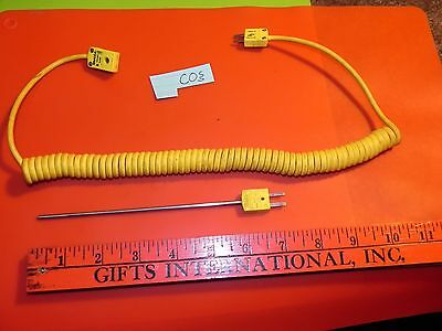"OMEGA Thermocouple Extension Cable ""T"" Type (yellow) Mini Plug"