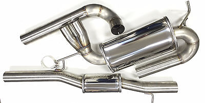 """Audi S3 8L Exhaust system 3in 3,0"""" Stainless steel"""