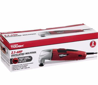 Hyper Tough 2.1A Oscillating Multifunction Tool Kit W
