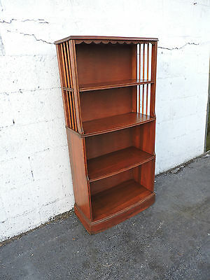 Antique Solid Wood Narrow Bookcase Bookshelf Display Shelves 8284