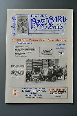 R&L Mag-Picture Postcard Monthly 1985 July Fred Spalding Essex/Elmer Keene Wales