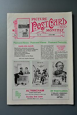 R&L Mag-Picture Postcard Monthly 1985 June Bamforth USA/William Lawrence