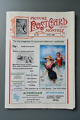 R&L Mag-Picture Postcard Monthly 1986 Apr Nottingham/Rugby/Fred Spurgin