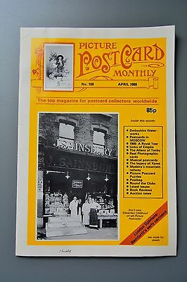 R&L Mag-Picture Postcard Monthly 1988 Apr Derbyshire Water/Charles Smith Allen