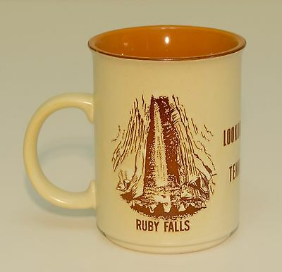 Lookout Mountain Tennessee mug Ruby Falls Chattanooga