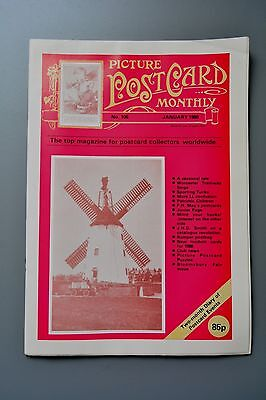 R&L Mag-Picture Postcard Monthly 1988 Jan WW1 Children/LL pt3/Modern Cards
