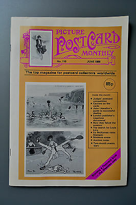 R&L Mag-Picture Postcard Monthly 1988 June Early Aviation/Guide to Dealing Cards