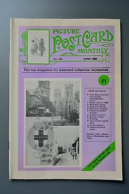R&L Mag: Picture Postcard Monthly 1989 Apr York Topo/Charles Nadin/Mistakes