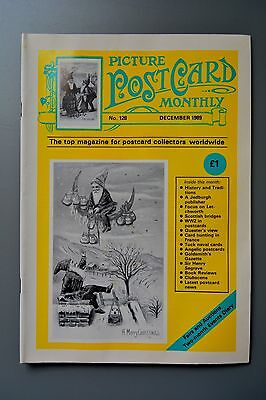 R&L Mag: Picture Postcard Monthly 1989 Dec Henry Seagrave/Letchworth/Bridges