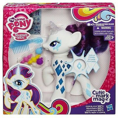 My Little Pony Cutie Mark Magic Glamour Glow Rarity Figure kids children Toy