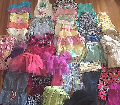 Huge Girls Clothing Lot 42 Pieces Size 4 Mostly Summer