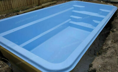 Fibreglass SWIMMING POOL any SIZE any SHAPE in-ground insulated ALL UK EU