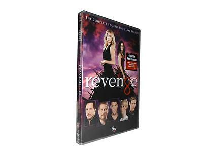 Revenge: The Complete Fourth and Final Season 4 (DVD, 2015, 5-Disc Set)