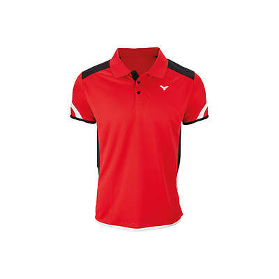 Victor - Polo Function Unisex Red 6727 - 2017/2018 Badminton Apparel Series