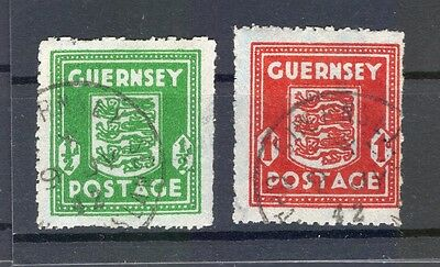 Channel islands GUERNSEY 4,5 color! gest R8000