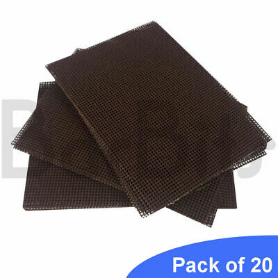 20 Griddle Screens Grill Scourers Refills | BBQ Oven Cleaning Heavy Duty Mesh
